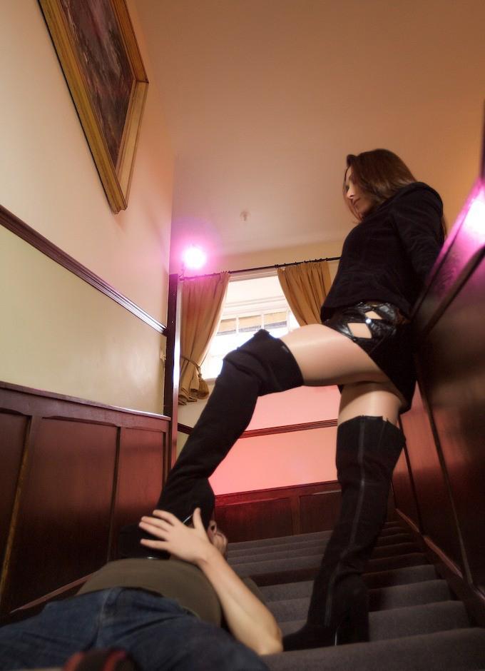 Boots Pantyhose Teasing 53