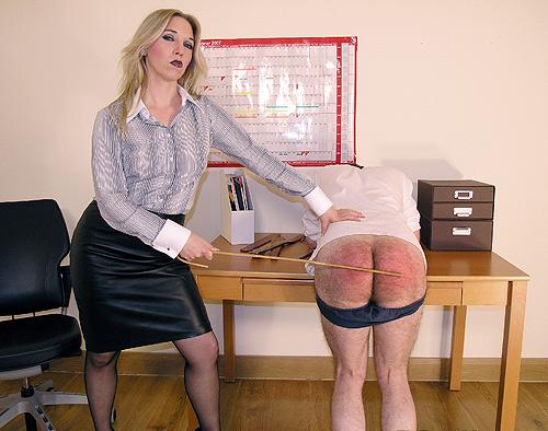 Pantyhose Mistress Spanking